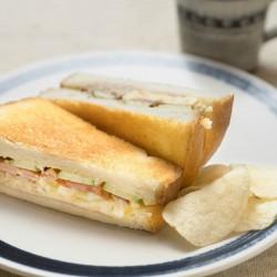 ランチAミックスのトーストサンド